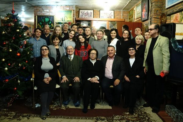 "IN ""STATE OF MOSCOW TATARS"" THERE WAS HELD A CREATIVE MEETING WITH KAMAL THEATRE ACTORS"